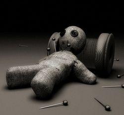 Порча Вуду на врага - кукла