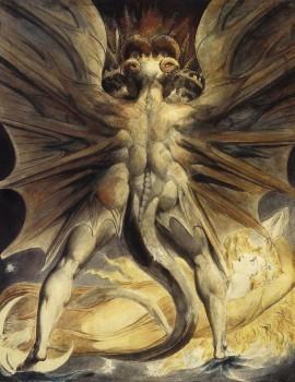 У.Блейк Великий Красный Дракон и Дева одетая в солнечный свет